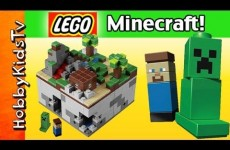 LEGO Minecraft Micro World 21102 HobbyKidsTV Steve Creeper