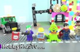 Lego MiniFig Monday 8 Super Heros SpongeBob Spider-man Superman Batman and Wonder Woman HobbyKidsTV