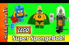 LEGO SpongeBob Heroic Heroes of the Deep 3815 Build Patrick Plankton Nickelodeon HobbyKidsTV