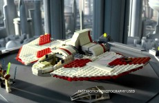 LEGO Star Wars – Bounty Hunter Gunship vs Jedi T-6 Shuttle