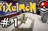 "Minecraft Pixelmon – E01 ""Professor Paul!"" (Pokemon Mod for Minecraft!)"
