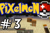 "Minecraft Pixelmon – E03 ""First Catches!"" (Pokemon Mod for Minecraft!)"