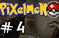 "Minecraft Pixelmon – E04 ""Fossil Hunt!"" (Pokemon Mod for Minecraft!)"