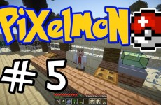 "Minecraft Pixelmon – E05 ""Palm Beach PokeCenter!"" (Pokemon Mod for Minecraft!)"