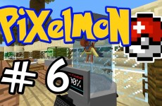 "Minecraft Pixelmon – E06 ""Archen DNA Extraction!"" (Pokemon Mod for Minecraft!)"
