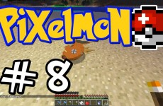 "Minecraft Pixelmon – E08 ""Cooking Magikarp!"" (Pokemon Mod for Minecraft!)"