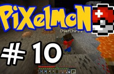 "Minecraft Pixelmon – E10 ""Geocaching with Chirpa!"" (Pokemon Mod for Minecraft!)"