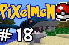 "Minecraft Pixelmon – E18 ""Sharknado!"" (Pokemon Mod for Minecraft!)"