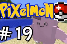 "Minecraft Pixelmon – E19 ""Clefairy and Clefable!"" (Pokemon Mod for Minecraft!)"