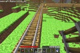 Minecraft Tutorials – 15 – How to Survive & Thrive (Minecarts & Rails)