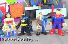 MiniFig Monday 9 Imaginext Superman Batman Wonder Woman HobbyKidsTV
