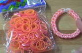 New Pink and Yellow Pearl RainbowLoom.Com Bands Review / Overview | TutorialsByA