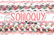NEW Reversible Soliloquy Rainbow Loom Bracelet Tutorial | How To