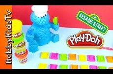 PLAY DOH Cookie Monster Eats ABCs – We Sing Alphabet – Sesame Street