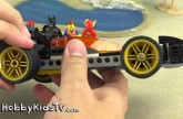 PLAY-DOH Island Escape Part.2! BUILD LEGO Bat Mobile + SpiderMan,Emmet,Flash [Box Open]HobbyKids