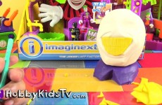 Play-Doh Make Joker Surprise Egg Sculpt Imaginext Batman HobbyKidsTV #HKTV