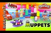 PLAY-DOH Muppets Lego Toy Surprises! Sesame Street Count, Cars, Spiderman [Disney] [Lego Movie]