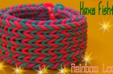 Rainbow Loom Bracelet Tutorial – Hexa Fishtail Bracelet Rainbow Loom – Original Design Rainbow Loom