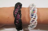 "Rainbow Loom – Spirilla Bracelet (Variation of the ""Frozen"" bracelet by rainbow loom)"