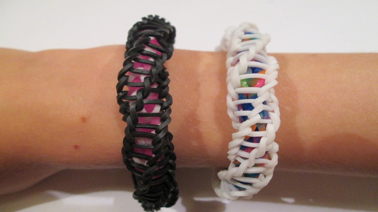 rainbow loom � spirilla bracelet variation of the �frozen