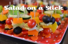 Salad On a Stick | Cook With Amber