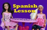 Barbie Doll Spanish Lesson with New Latina Disney Princess Vera DisneyCarToys Pregnant Barbie Parody