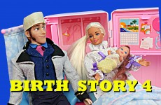 Barbie Pregnant Baby Birth Story 4 Doctor Elsa DisneyCarToys Disney Frozen Prince Hans & Spiderman