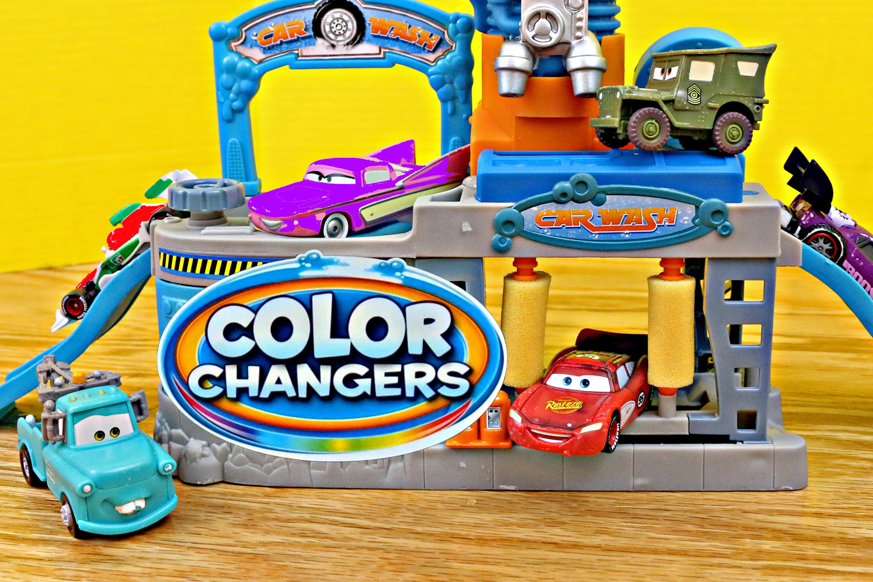 Cars Color Changers Disney Cars Toys Lightning Mcqueen