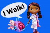 Doc McStuffins Walk 'N Talk Doll DisneyCarToys Toy Lambie Disney Junior New Toys