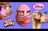 Glitzi Globes Princess Rapunzel Theme Pack Snow White ❤  Surprise Egg ❤ How To Make Snow Globe