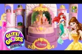 Glitzi Globes Spin and Sparkle Castle Playset ❤ Disney Princess Belle Ariel Sleeping Beauty