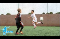Learn Rainbow Flick – Kids Neymar football soccer skills – STRskillSchool LittleSTRs