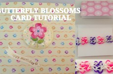 Loom Bands BUTTERFLY BLOSSOMS Friendship loom card l JasmineStarler
