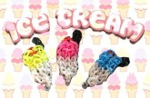 Loom bands Ice-Cream Charm (Original design) Rainbow Loom Tutorial l JasmineStarler