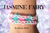 Loom Bands JASMINE FAIRY Bracelet (Original Design) Rainbow Loom Tutorial l JasmineStarler