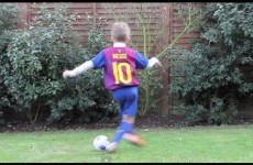 MESSI STEP OVER – Kids Football skills