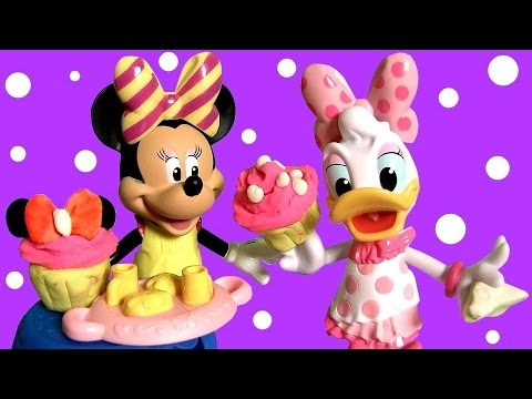 Minnie Mouse Tea Party With Daisy Duck Magiclip Disney Bow Toons Tique Magic Clip Play Doh