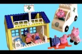 Peppa Pig Hospital Building Blocks with Ambulance – Nickelodeon Juego de Construcciones Bloks