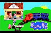 Peppa Pig Train Station Blocks – Estación de Trenes Juguete de Construcciones Lego Disneycollector