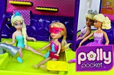 Polly Pocket Jet Disney Frozen Elsa Magic Clip Doll and Barbie Airplane Adventure DisneyCarToys Toy