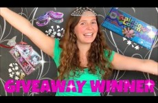 Rainbow loom GIVEAWAY WINNER and Q&A l JasmineStarler
