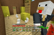Minecraft Xbox – Sky Den – Chickens In A Suitcase (21)