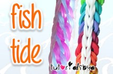 NEW Fish Tide Rainbow Loom Bracelet Tutorial | How To