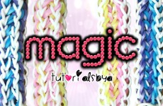 NEW Magic Rainbow Loom Bracelet Tutorial | How To