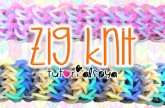 NEW Zig Knit Rainbow Loom Bracelet Tutorial | How To