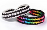 Rainbow Loom Double Capped Dragon Scale Advanced Bracelet