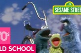 Sesame Street: Cookie and Herry Share A Bicycle