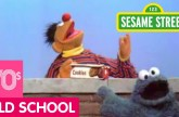 Sesame Street: Happiness is Looking Up (and Finding Cookies)