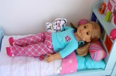 Setting Up American Girl Bouquet Bed ! HD WATCH IN HD