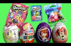 2015 Shopkins Mystery Bag, Barbie Kinder Huevos Sorpresa, Peppa Pig Surprise, MyLittlePony Christmas